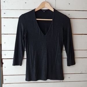 Judith and Charles V-neck top XS